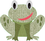 Froggy Simple Applique Quick Stitch Embroidery
