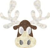 Moosey Simple Applique Quick Stitch Embroidery