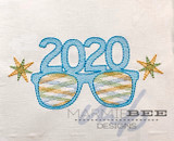 2020 Sunglasses Quick Stitch Embroidery