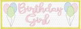 Smocked Birthday Girl Quick Stitch Embroidery