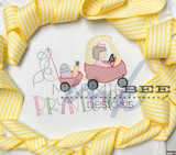 Cozy Coupe Easter Girl Quick Stitch
