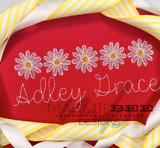 Daisy Sketch Line Quick Stitch