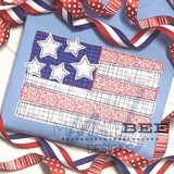 Favorite Flag Simple Applique