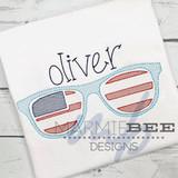 American Sunglasses Quick Stitch