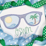 Beachy Sunglasses Quick Stitch