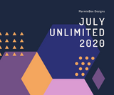 July 2020 Unlimited MarmieBee Designs