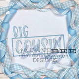 Faux Smocked Big Cousin Quick Stitch Embroidery