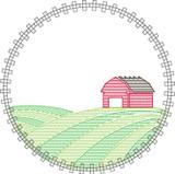 Farm Circle Quick Stitch