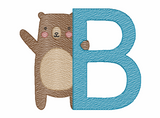 B is for Bear Quick Stich Embroidery