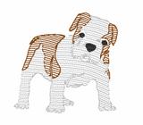 Bulldog Quick Stich Embroidery