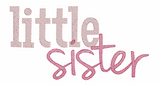 Little Sister Quick Stitch Embroidery