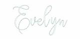 """Evelyn Font 1.5"""" + BX"""