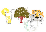 Lemonade, Oak, and Tiger Trio (Original Wash)