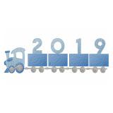2019 Train and Plain Train Quick Stitch