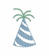 Birthday Hat Mini Quick Stitch Embroidery
