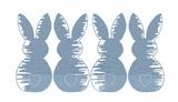 Bunny Boy Line Quick Stitch