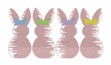Bunny Girl Line Quick Stitch