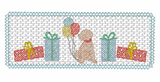 Smocked Birthday Boy Pup Quick Stitch Embroidery