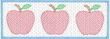 Faux Smock Apples Quick Stitch Embroidery