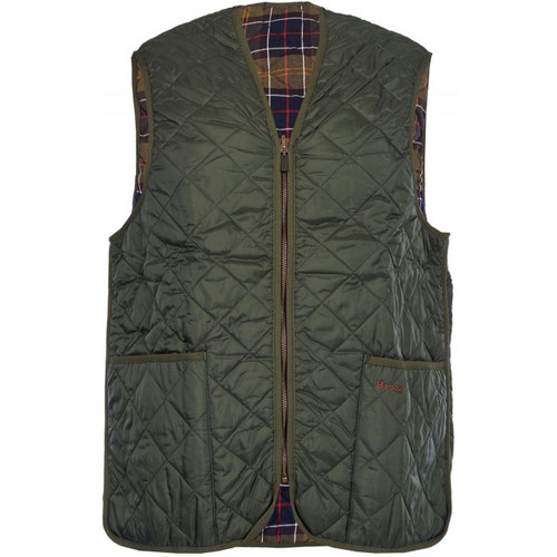 Olive Green with Classic Tartan Inner
