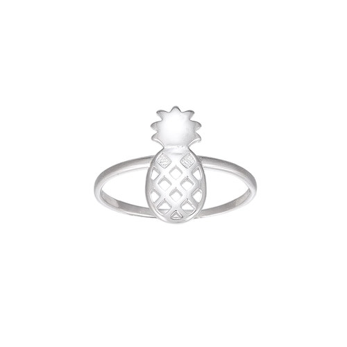 Ladies Pineapple Sterling Silver Ring