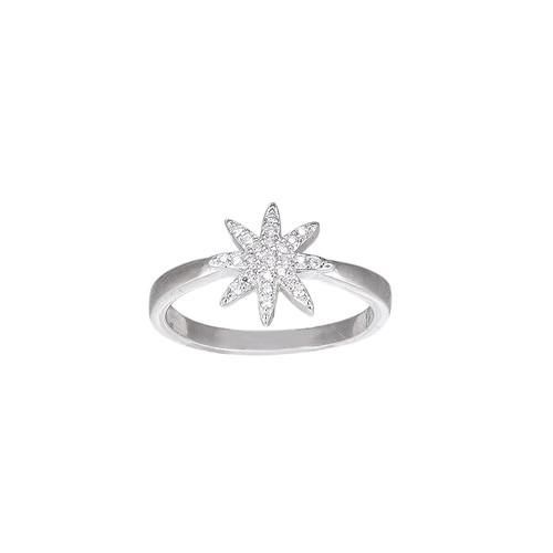 Ladies Fairy Star Sterling Silver Ring