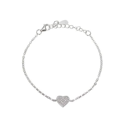 Ladies Love Sterling Silver Bracelet