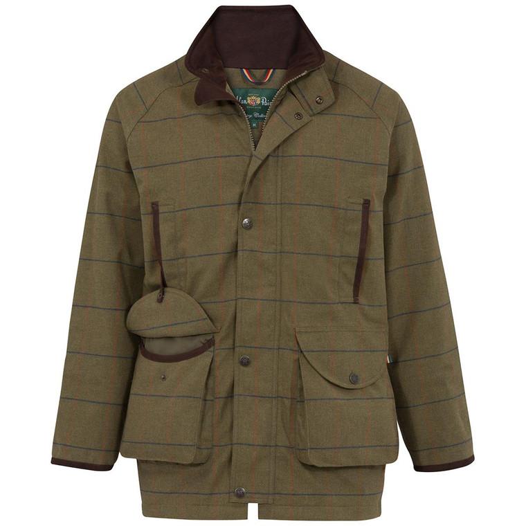Basil Green Mens Alan Paine Axford Coat