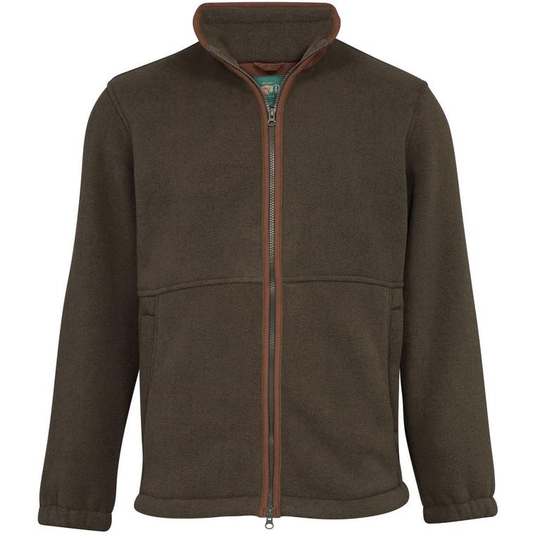 Olive Green Mens Alan Paine Aylsham Fleece Jacket