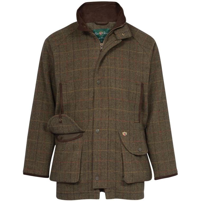 Peat Brown Mens Alan Paine Combrook Coat