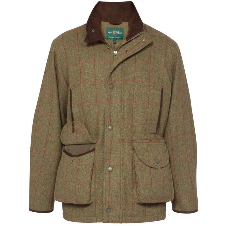 Sage Green Mens Alan Paine Combrook Field Coat