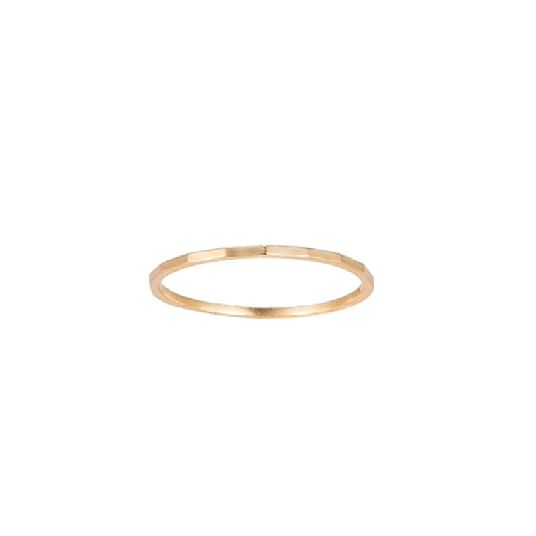 Ladies Angled Sterling Silver Ring