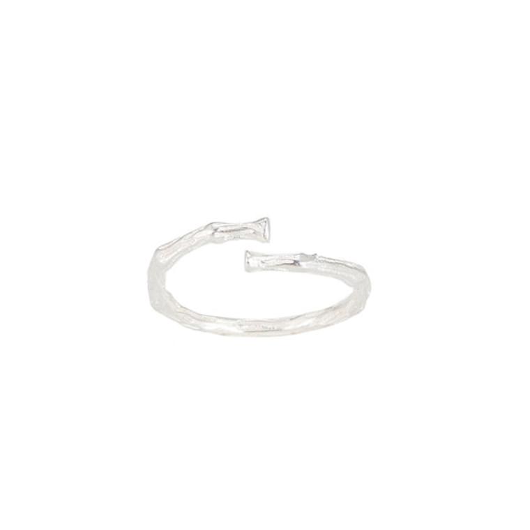 Ladies Twig Sterling Silver Ring