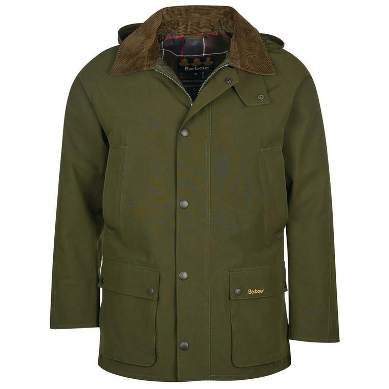 Sage Green Mens Barbour Waterproof Ashby Jacket