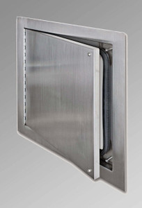 Acudor 18W x 18H ADWT-SS Stainless Steel Airtight/Watertight Access Door