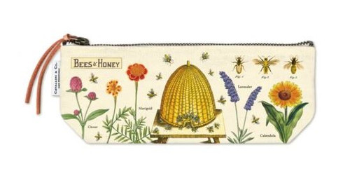 Bee print pouch