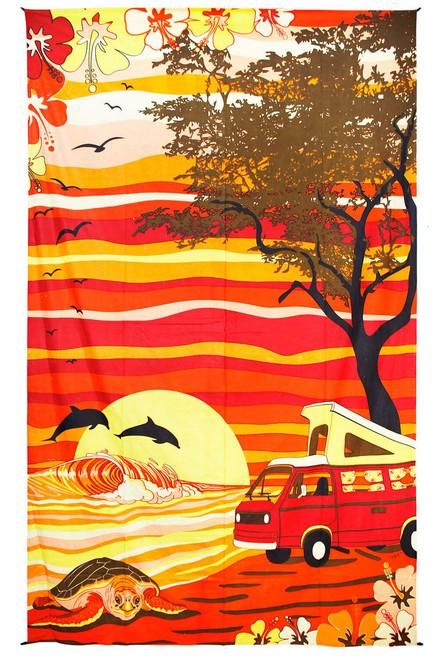 Hippie Van Tapestry 60x90