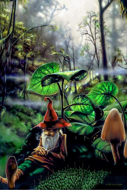 Respite Gnome Heady Art Print Mini Tapestry 30x45