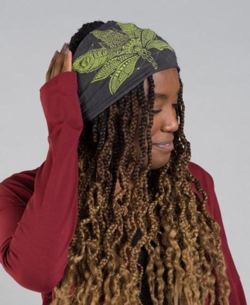 Sacred Cannabis Boho Headband