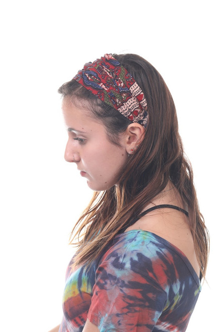 Headbands With Assorted Traditional Indian Prints