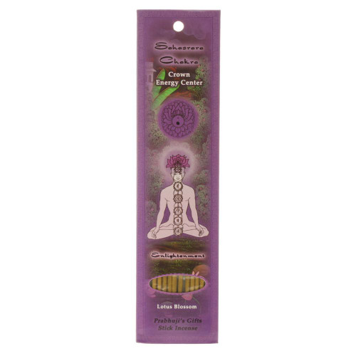 Incense Sticks Crown Chakra Sahasrara - Enlightenment