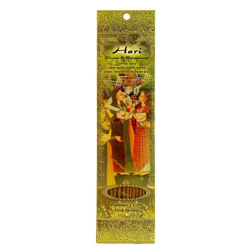 Incense Sticks Hari - Amber and Sandalwood