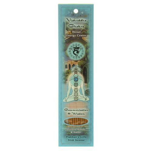 Incense Sticks Throat Chakra Vishuddha - Communication and Wisdom