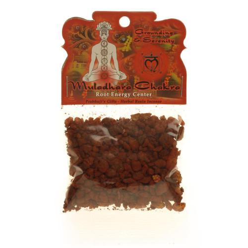 Resin Incense Root Chakra Muladhara - Grounding and Inner Peace