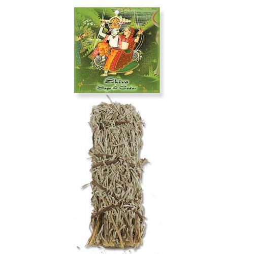 Desert Sage and Cedar Stick - Shiva Bundle