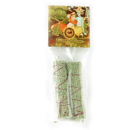 Desert Sage Smudge Stick- 2 Mini Bundles