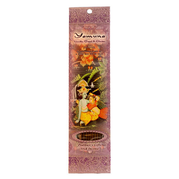 Incense Sticks Yamuna - Vanilla, Copal, and Amber
