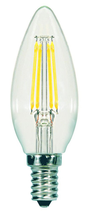 5.5W CTC/LED/27K/CL/120V, Satco Products Inc. S9960 LDJYC