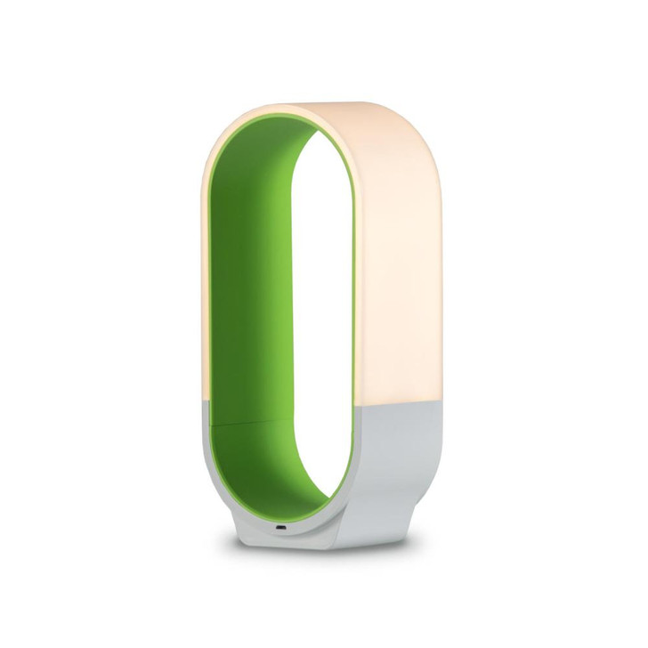 "mr. GO!  Lantern, LED, Soft Green, 10""H (NLG-S-SGN 407U9RQ)"