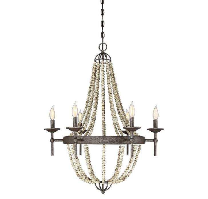 6-Light Chandelier, Lights Reimagined (80406GW)